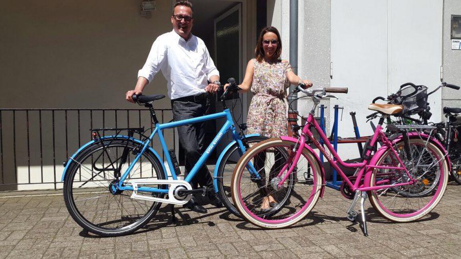 wir und die neuen bikes
